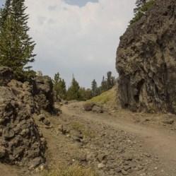 Path on Mount Wasburn