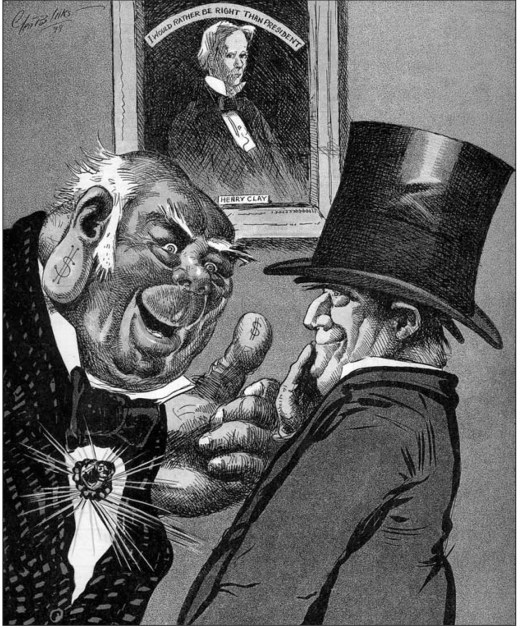 B&W reproduction of George Luks cartoon, reproduced in Robert Gambone's Life on the Press, the only book on Luks's illustration work.