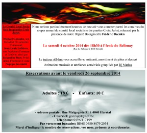 invitation souper comite ps quartier croix jurlet 2014