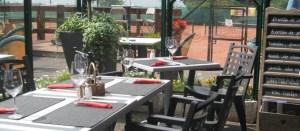 Restaurant tennis club Liers