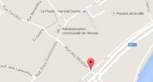 rue des Mineurs Herstal (c) Google Map