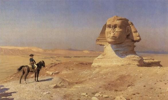 Наполеон перд отьездом из Египта.