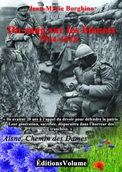 """Affiche """"Du Sang sur les Bleuets"""""""