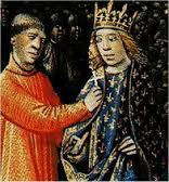 Louis VII prenant la croix