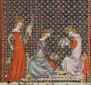 Couronnement de Louis VII et d'Aliénor d'Aquitaine