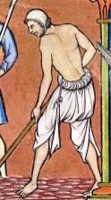 Paysan au Moyen Âge