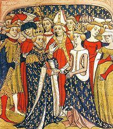 Mariage de Marie de Brabant et du roi Philippe III