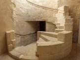 Escalier donnant accès au cloître