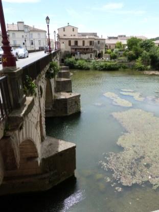 Pont romain sur le Vidourle