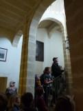 Intérieur escaliers et accès à l'étage