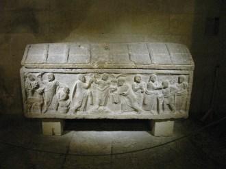 Sarcophage représentant le sacrifice d'Abraham