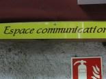 Espace communication