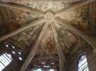 Fresque du Christ tétramorphe de la chapelle rayonnante axiale