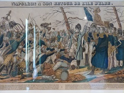 Napoléon à son retour de l'île d'Elbe