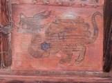 Panneaux peints de décors fantastiques (4)