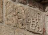 Sculptures extérieures sur le chevet