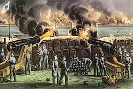Bombardement de Fort Sumter