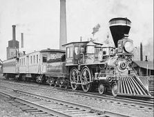 Locomotive William Crooks 1861