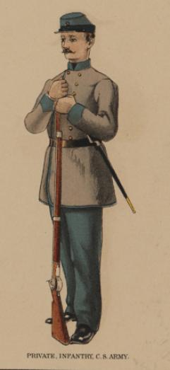 Soldat confédéré
