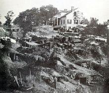 White House pendant le siège de Vicksbur