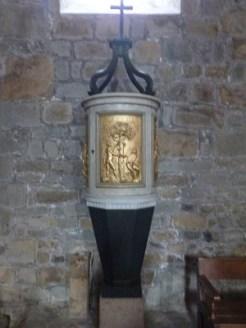 Fonds baptismaux 18ème du siècle