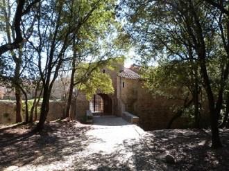 Abbaye du Thoronet entrée