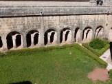 Cloître vu de la terrasse