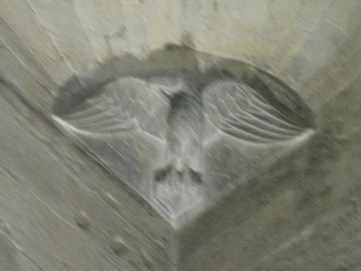 Jean représenté par un aigle