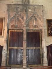 Portail central vu de l'intérieur