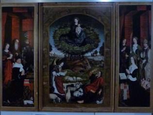 Triptyque du buisson ardent de Nicolas Froment