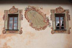 Fresques sur les murs