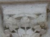 Décors sculptés, trois oiseaux