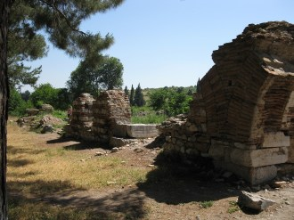 Ephèse, vestiges d'un anqueduc antique