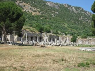Ephèse-L'agora tétragone (basse)
