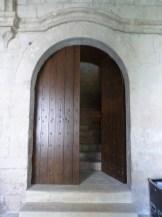 Porte donnant accès au dortoir