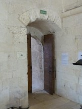 Porte de sortie du dortoir