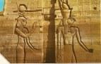 Hathor et Horus