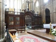 Abside et maître autel