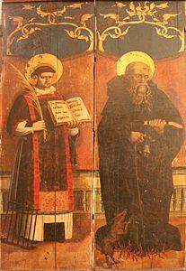 Saint-Laurent et saint-Antoine