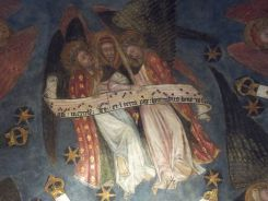 Chapelle basse, la chorale céleste