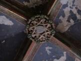 Clef de voûte dans chapelle du collatéral droit