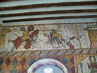 Guillaume d'Orange affrontant le géant Isoré