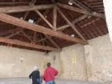 Halle couverte du 17ème siècle