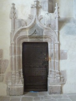 Porte de la sacristie