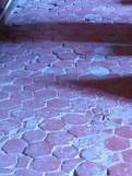 Chapelle pavement de tomettes