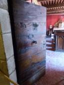 Chapelle porte d'entrée