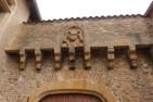 Abbaye de Charlieu- façades contreforts et mâchicoulis