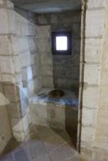 Cellule du père chartreux-jardinCellule du père chartreux-latrines
