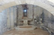 Chapelle de Belvezet- l'autel