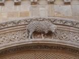 Grand portail-agneau de l'Apocalypse (2)